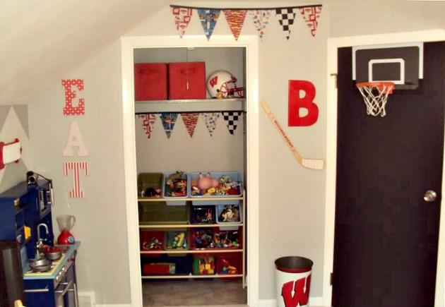 Closet Makeover - Boy's Room