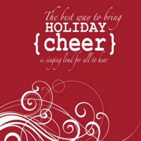 Holiday Cheer Printable