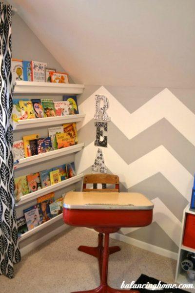 Reading Corner Update & Added Storage