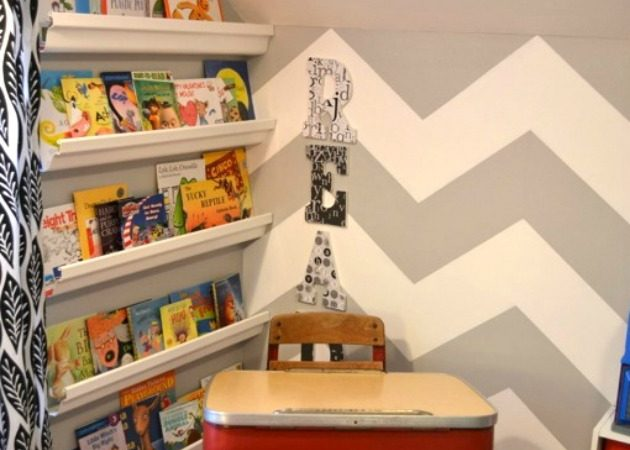 Reading Corner Update & Added Storage