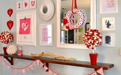 Valentine's Wall