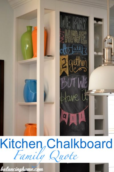 Kitchen Chalkboard Art