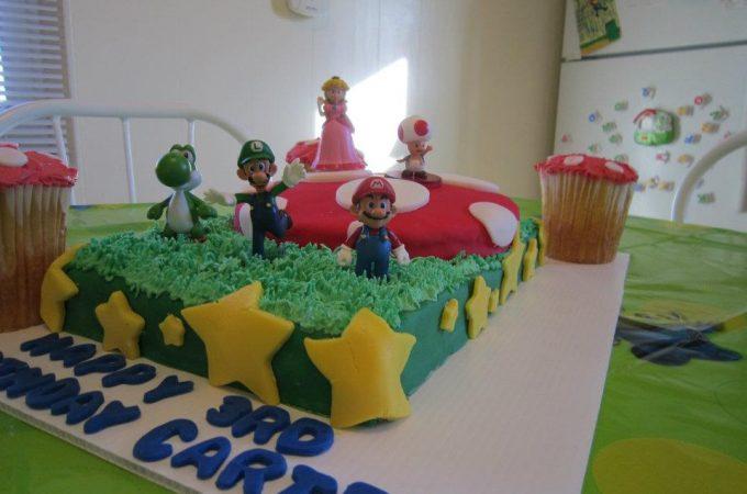 Mario Cake- Featured Post