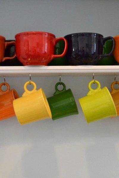Cups on Hooks