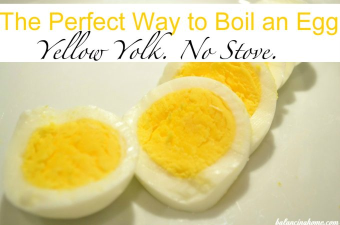 Easiest Way Ever to Boil an Egg (Yellow Yolks, No Stove Needed)