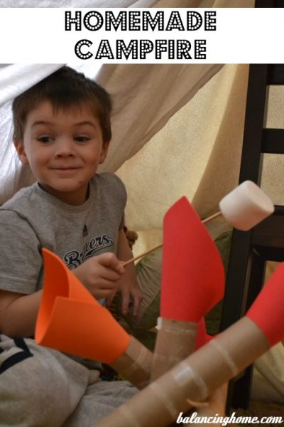 Boys Build Forts (or have their moms do it for them)