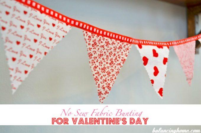 Valentine's Day Bunting