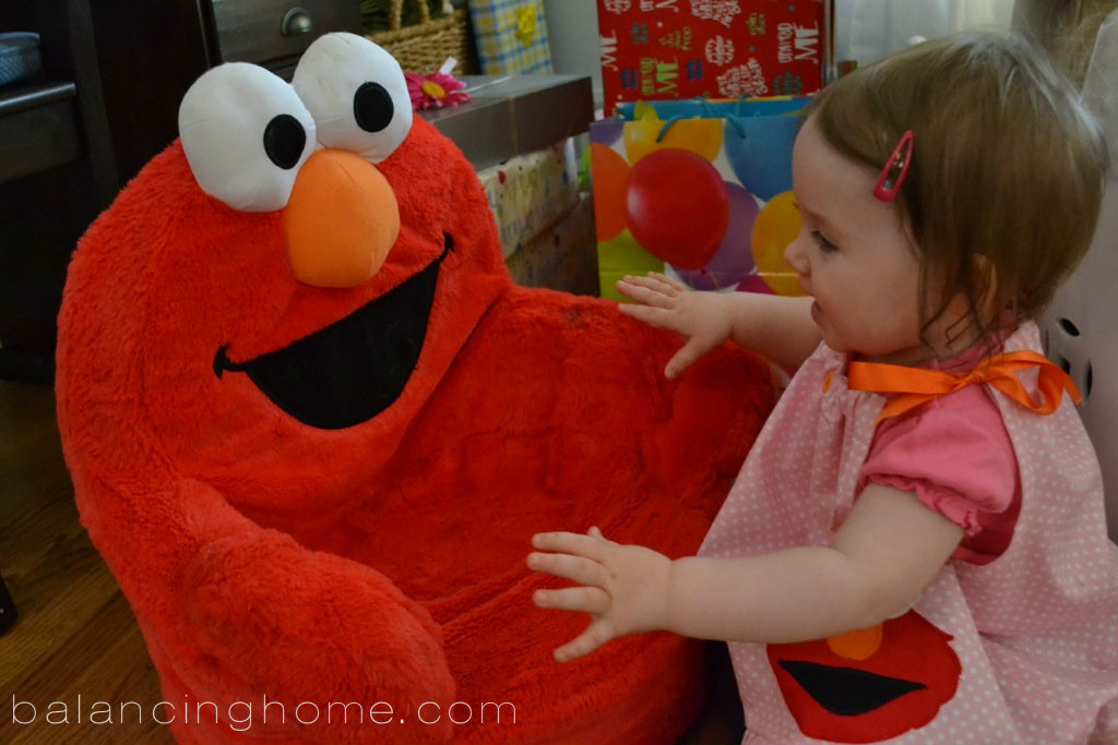 elmo first birthday party