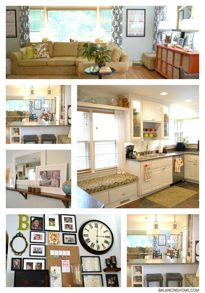 Living Space Collage from Balancing Home