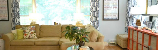 Living Room, Dining Room, Kitchen Tour