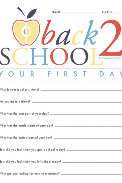 Five Ways to Make Back To School Fun & Memorable