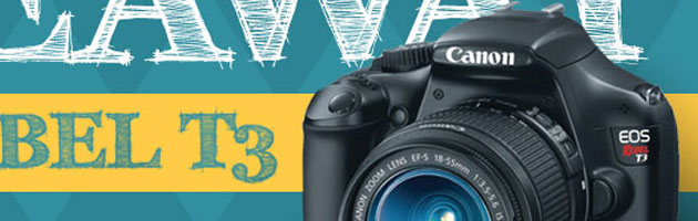 Canon T3 Giveaway Winner Announcement