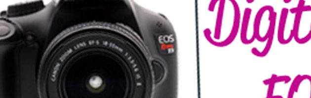 Canon Rebel T3 dSLR w/18-55 mm Lens Giveaway