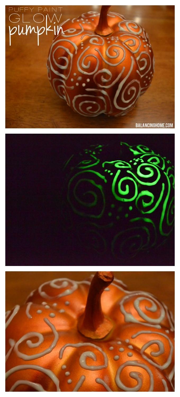 puffy-paint-glow-in-the-dark-pumpkin