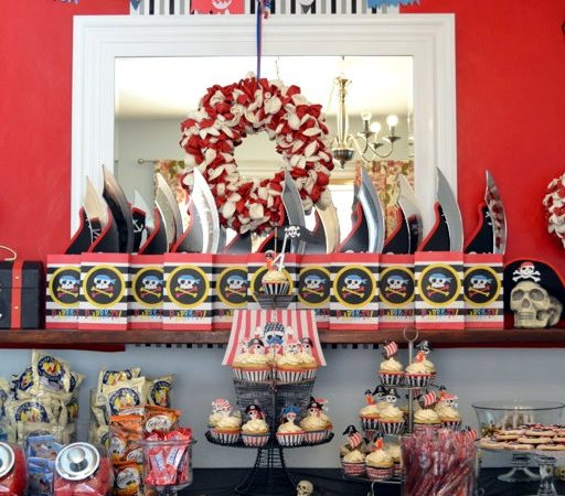 Pirate Party Dessert Table/Feature Wall