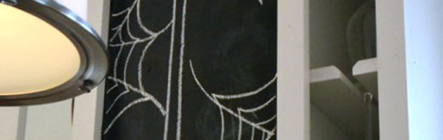 Halloween Chalkboard Art