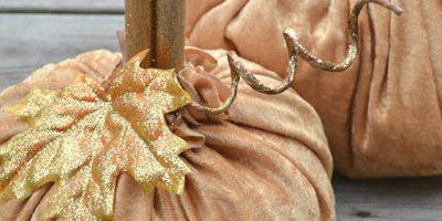 Velvet Pumpkins & $50 Jo-Ann Fabrics Gift Card Giveaway