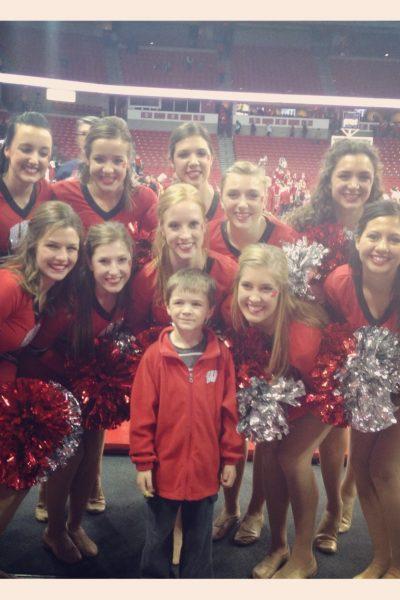 A Full Week: Milestones, Cheerleaders & Santa