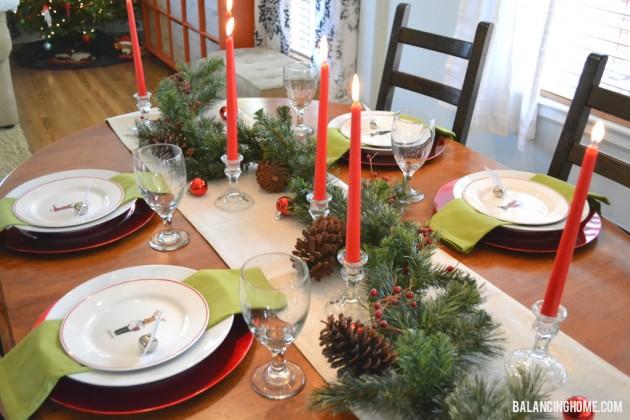 Stunning Perfect Christmas Table Setting Pictures - Best Image . & Stunning Perfect Christmas Table Setting Pictures - Best Image ...