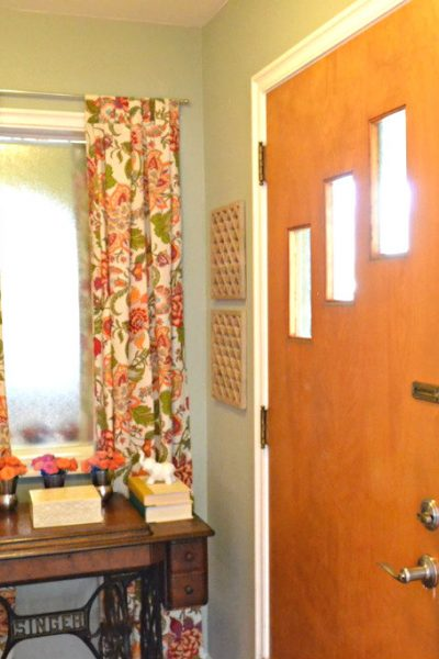 Front Entryway Makeover: Before & After
