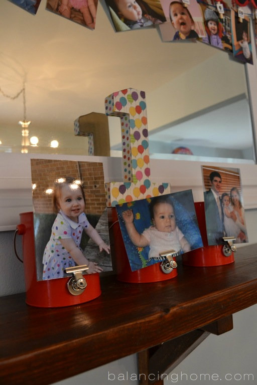 Ever Changing Dining Room Shelf- Elmo First Birthday