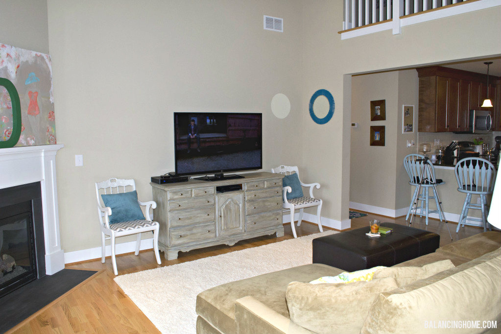 Perfect Living Room Dresser To Tv Console Balancing Home