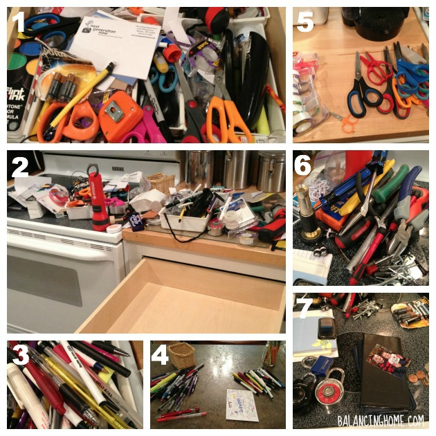 #40bags#40days- Junk Drawer