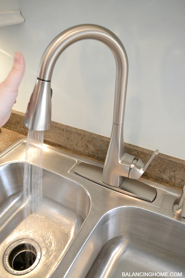 Our Brand Spankin New Moen Faucet Balancing Home With