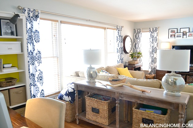 Spruced Up Living Room Amp New Arrangement Balancing Home
