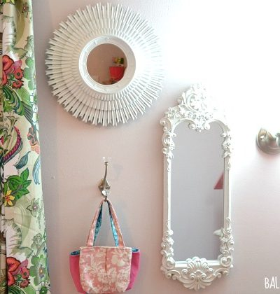 Dressing Up the Walls In the Big Girl Room