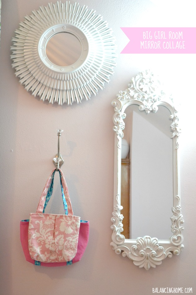 What to hang on the walls in a big girl room   Mirror wall. What to hang on the walls in a big girl room   Mirror wall