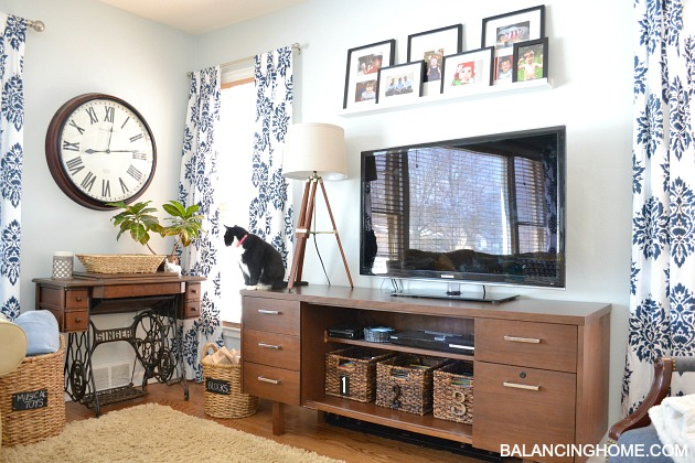 Spruced Up Living Room & New Arrangement - Balancing Home With ...