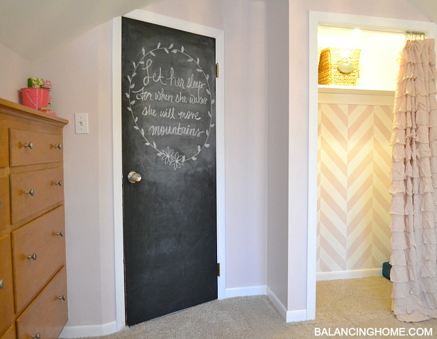 Big Girl Room Doors DIY Magnet Board Balancing Home With Megan