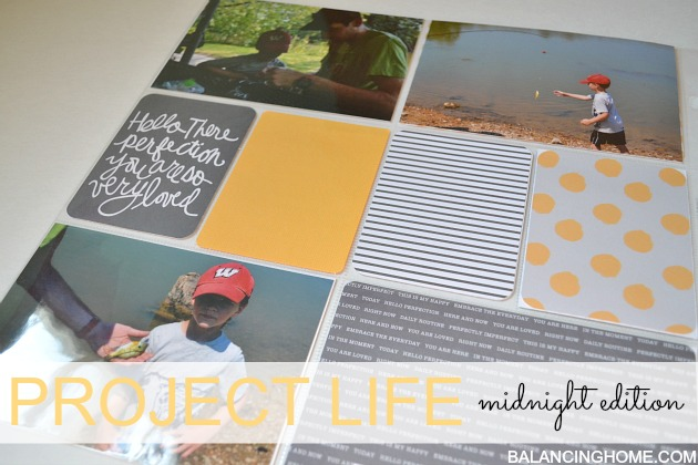 Project Life- Midnight Edition