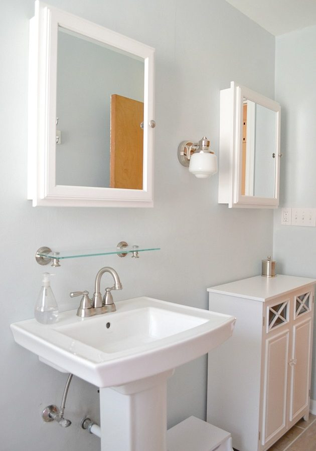 Simplifying Our Bathroom, Simplifying Our Routine