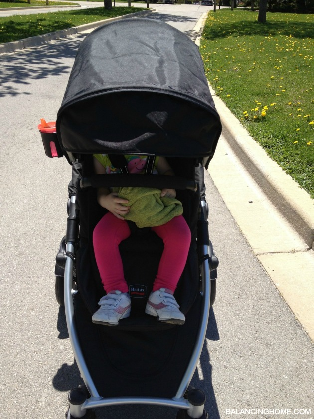 Britax BReady Stroller Giveaway