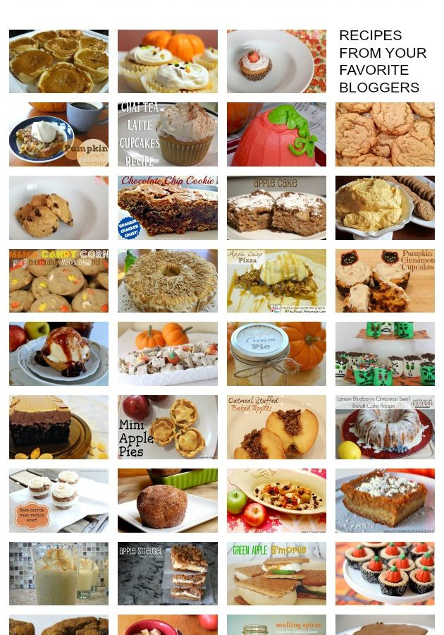 35+ Fall Dessert Recipes