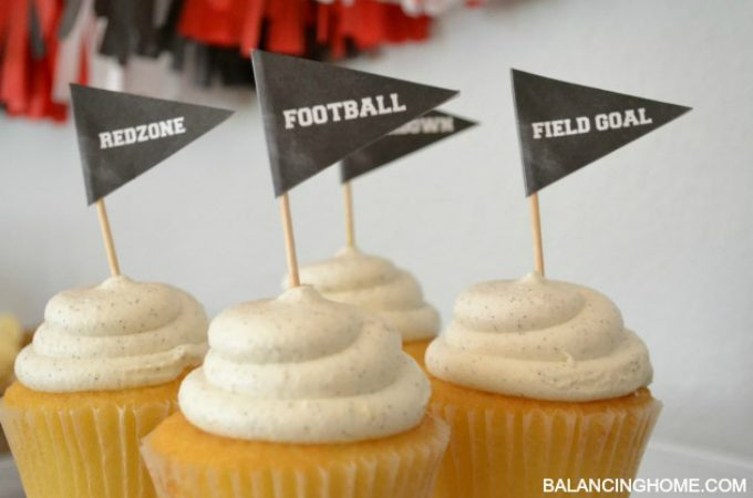Easy Entertaining For Game Day + Game Day Printables