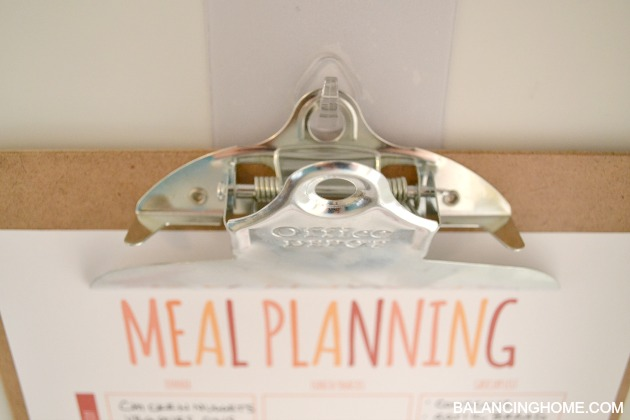 Meal Plan and Calendar Printable
