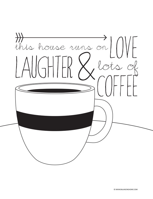 Free Printable Coffee Quotes