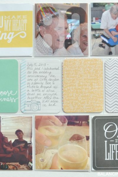 Saturday Share: A Project Life Link Party