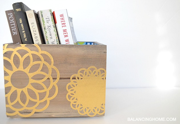 BOOK-BOX-DECOUPAGED-WITH-GOLD-FOIL-DOILY
