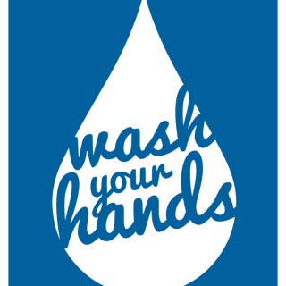 Wash you hands printable-- perfect art for the bathroom.