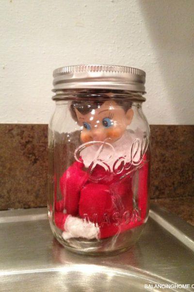 Elf on the Shelf Antics & a Few Thoughts