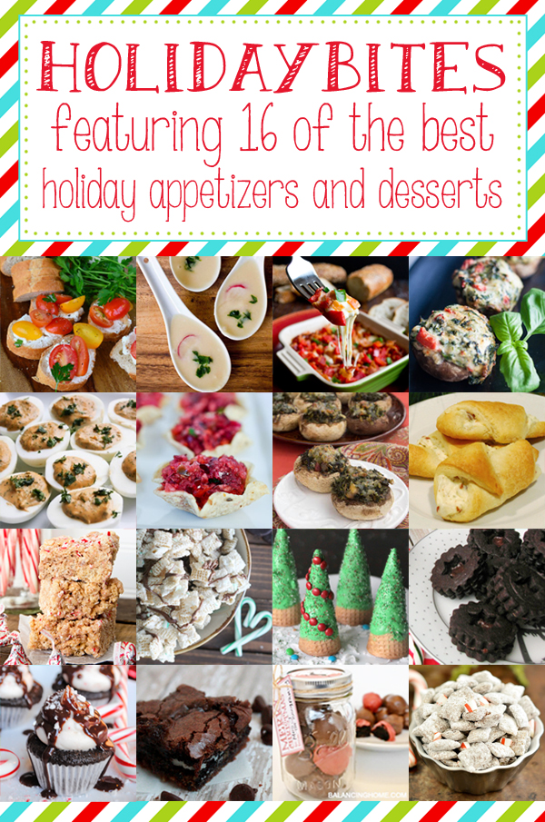 Holiday Bites long graphic
