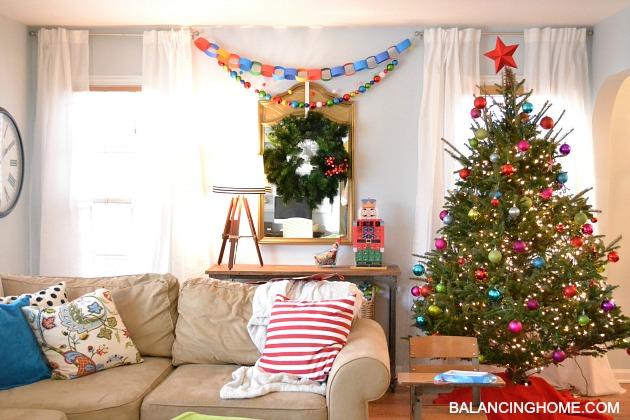 Kindergarten Chic Christmas- Handmade & Colorful