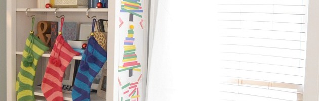 PAPER-STRIP-CHRISTMAS-TREE-KID-ART-PROJECT