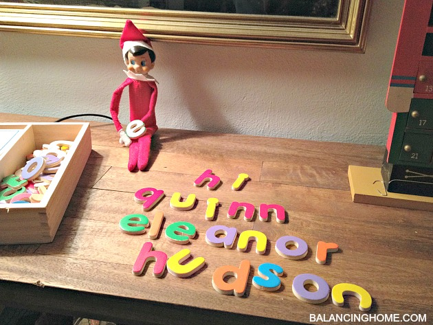 We created a fun pre-written letter on official Elf on the Shelf ...