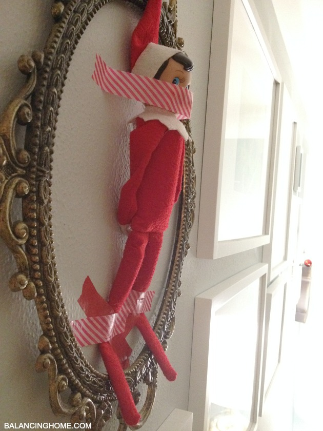 elf-on-the-shelf-taped-to-the-wall-2