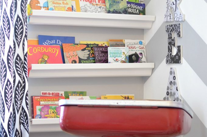 Reading Nook and Lots of Books